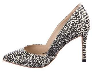 Loeffler Randall Embossed Leather Pumps