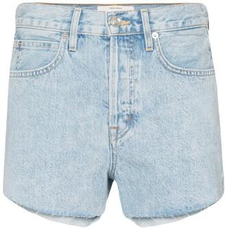 SLVRLAKE Farrah raw-hem denim shorts