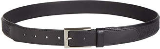 Tasso Elba Men Leather Casual Belt