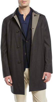 Loro Piana Waterfall Reversible Raincoat