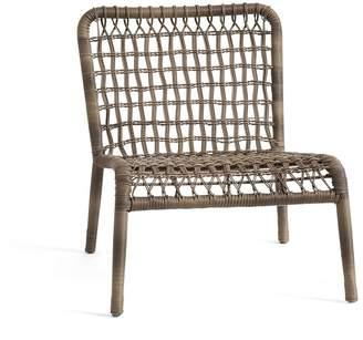 Pottery Barn Baja Woven Lounge Chair
