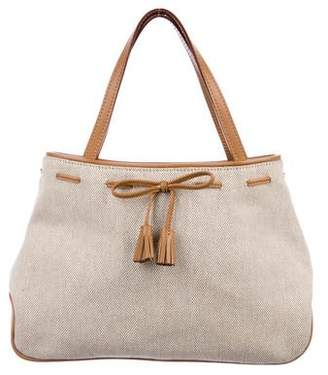 Anya Hindmarch Leather-Trimmed Tote