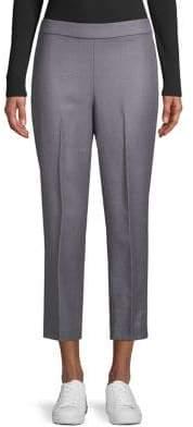Theory Cropped Wool Pants