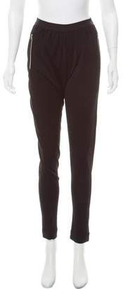 L'Agence Zip-Accented High-Rise Pants