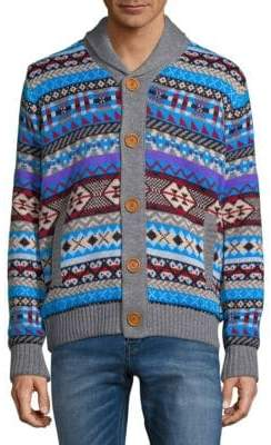 Aztec Buttoned Sweater