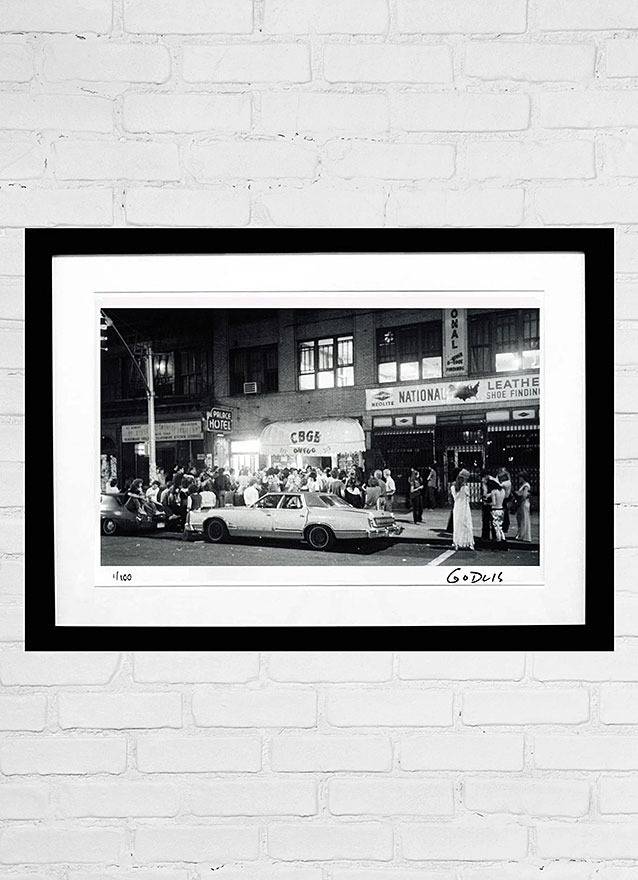 CBGB by GODLIS
