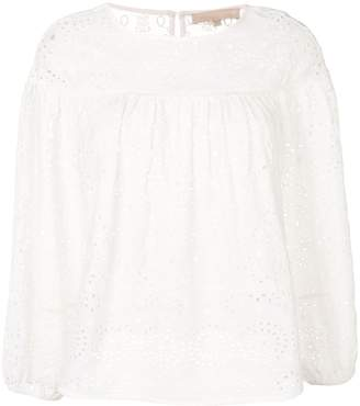 Vanessa Bruno broderie anglaise blouse