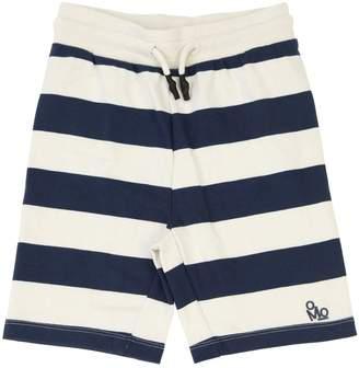 Molo Stripes Cotton Sweat Shorts
