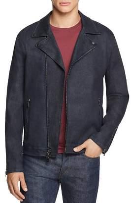 John Varvatos Collection Denim Moto Jacket