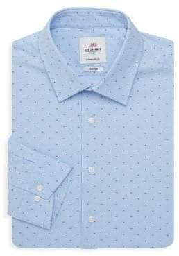 Ben Sherman Slim-Fit Dotted Dress Shirt