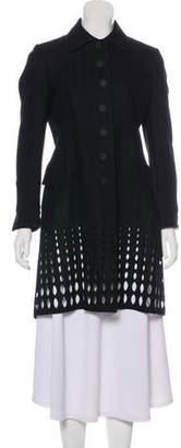 Alaia Knee-Length Wool Coat