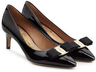 Salvatore Ferragamo Patent Leather Stiletto Pumps