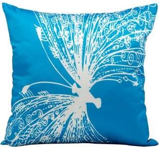 "Nourison Indoor/Outdoor Freedom Pillow, Turquoise, 18"" x 18"""