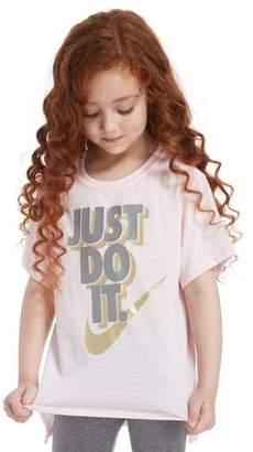 Nike Girls' Just Do It T-Shirt Children