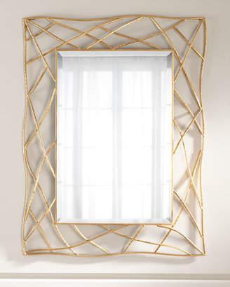 Golden Twig Mirror