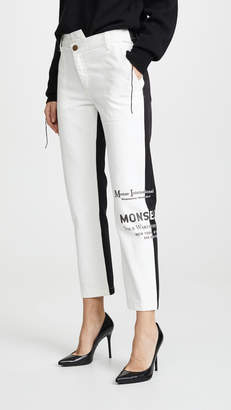 5051812694 Half Black Half White Jeans - ShopStyle