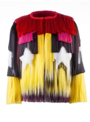 Krasimira Stoyneva - Yellow & Red Signature Jacket