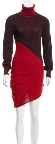 Balenciaga  Balenciaga Asymmetrical Sweater Dress