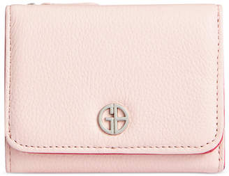 Giani Bernini Colorblock Softy Leather Trifold Wallet, Created for Macy's