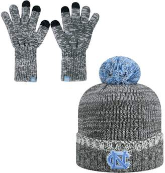 Top of the World Adult North Carolina Tar Heels Frostbite Beanie & Glove Set