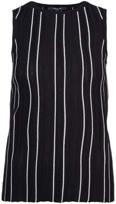 Cheap From China Sleeveless Mock Neck Handkerchief Blouse - Black Derek Lam Outlet Clearance Perfect SDORaW6F