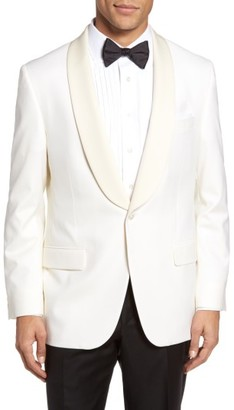 Men's Hickey Freeman Beacon Classic Fit Wool Dinner Jacket $1,295 thestylecure.com