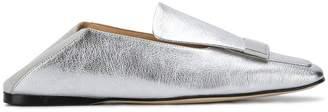 Sergio Rossi square toe loafers