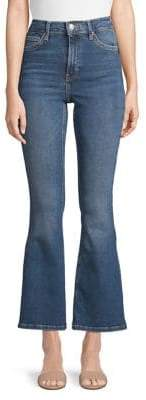 Topshop 30-Inch Leg Flared Jamie Jeans