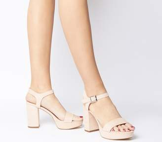ee6332e12b20 Office Must Have Platform Sandals Nude