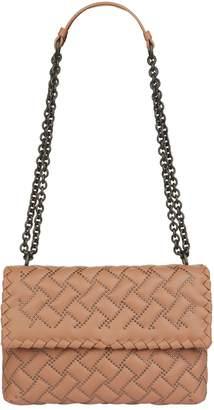 Bottega Veneta Small Studded Olimpia Shoulder Bag