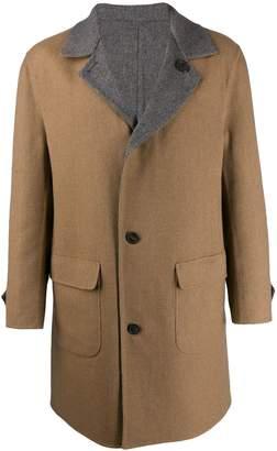 Brunello Cucinelli single-breasted coat