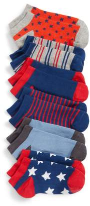 Tucker + Tate 6-Pack Stars and Stripes Low Cut Socks