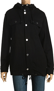 MICHAEL Michael Kors - French Terry Anorak (Black)