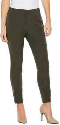 WORTHINGTON Worthington Curvy Fit Luxe Stretch Slim Leg Pants