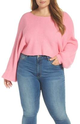 Leith Crop Dolman Sweater