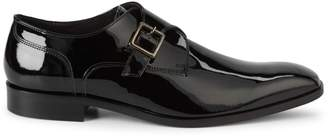 Saks Fifth Avenue Made In Italy Patent Leather Monk-Strap Dress Shoes