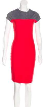 Rachel Zoe Short-Sleeve Knee-Length Dress