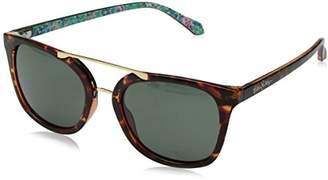 Lilly Pulitzer Women's Emilia Polarized Aviator Sunglasses