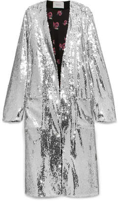 80c753fd Racil Vivien Sequined Jacket - Silver