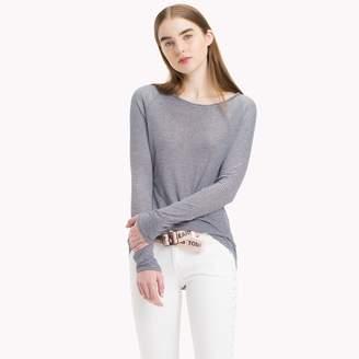 Tommy Hilfiger Stripe Long-Sleeve T-Shirt