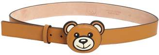 Moschino 35mm Teddy Bear Leather Belt