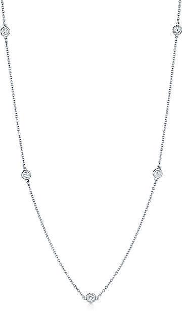 Tiffany & Co. Elsa Peretti®:Diamonds by the Yard® Necklace