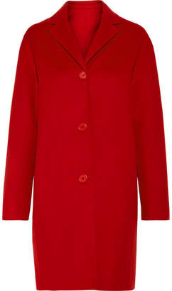 Mansur Gavriel Wool And Cashmere-blend Coat - Red
