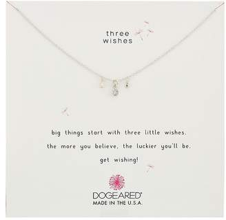 Dogeared Three Wishes Cluster Necklace Necklace