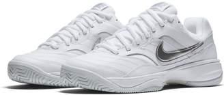 Nike Women's Court Lite Tennis Shoe, White/Matte Silver - Medium Grey, 9