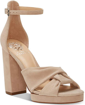 Vince Camuto Corlesta Knotted Platform Dress Sandals Women's Shoes