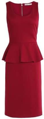 Alice + Olivia Alice+olivia Stretch-Jersey Peplum Dress