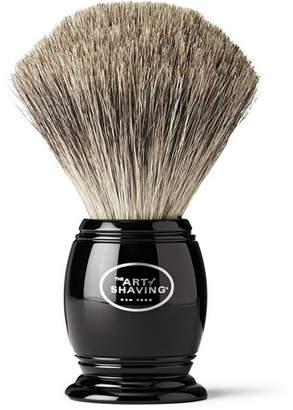 The Art of Shaving Pure Badger Shaving Brush - Black