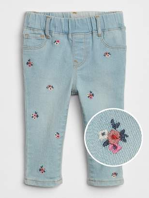 Gap Embroidered Jeggings