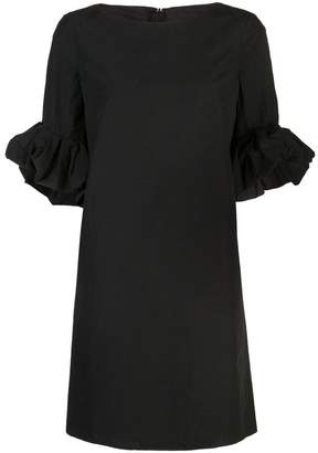 Paule Ka ruffled sleeve dress